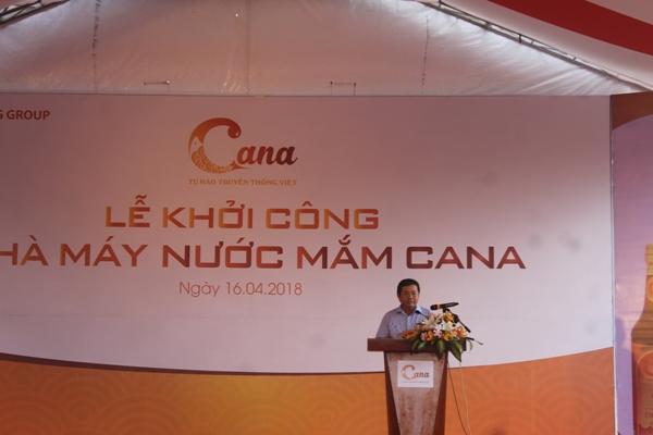 Thuỷ sản Nam Miền Trung khởi công nhà máy nước mắm Cana lớn nhất Ninh Thuận